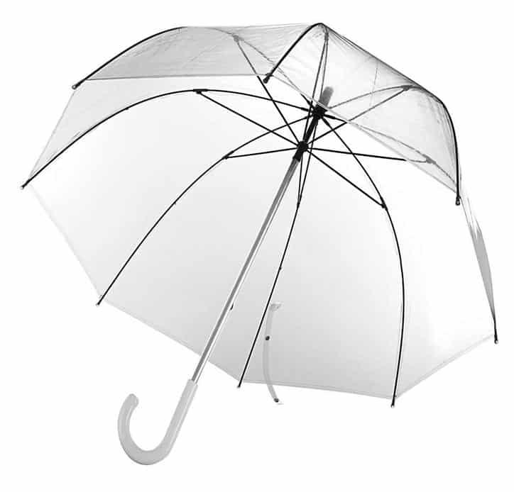 """Зонт-трость """"Прозрачный купол"""""""