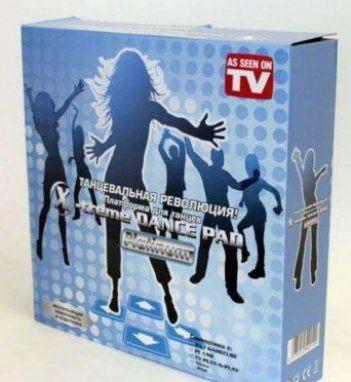 Обзор танцевального коврика X-tream Dance Pad Platinum