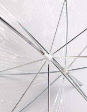 Достоинства зонта в виде купола