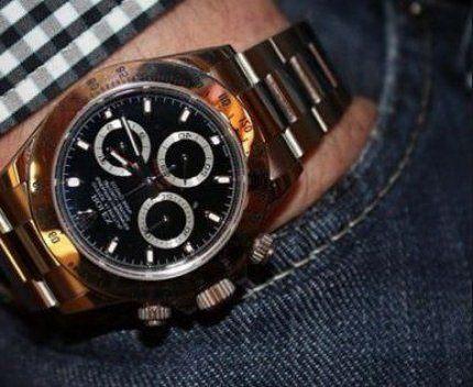 Достоинства часов Rolex Daytona