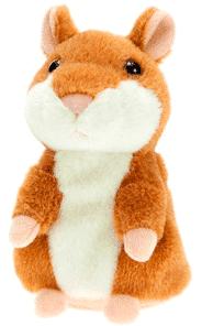 Говорящий хомяк игрушка-повторюшка