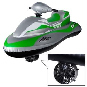Надувной скутер с мотором JS-PRO Race Rider