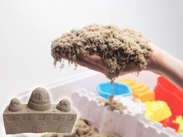 Домашняя «чудо-песочница» с кинетическим песком