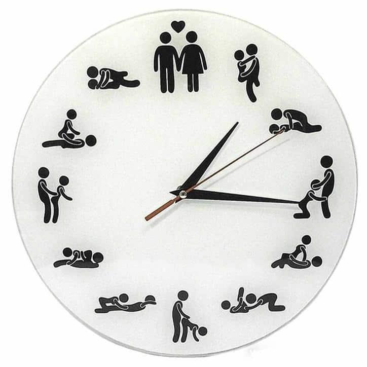 Настенные часы «Камасутра»