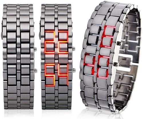LED-часы Iron Samurai (Железный Самурай)