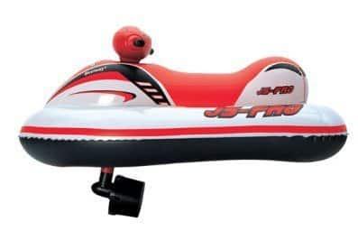 Мой обзор на надувной скутер с моторчиком JS-PRO Race Rider