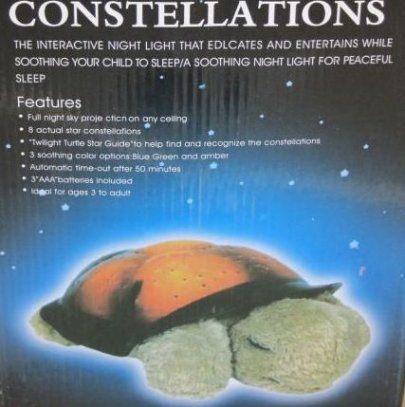 Мой обзор на ночник-проектор звёздного неба Черепашка