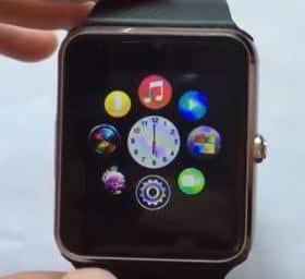 Размеры Smart Watch GT08