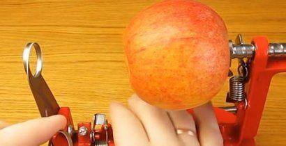 Принцип работы Apple Peeler (Серпантин)