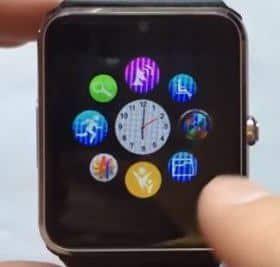 Функции умных часов Smart Watch GT08