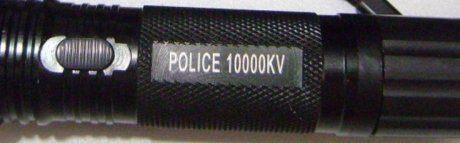 Действие шокера police