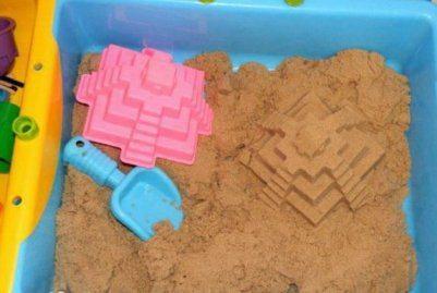 Мои впечатления о домашней песочнице с «живым» песком