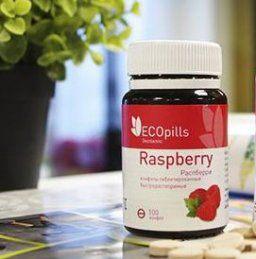 Конфеты для похудения Eco Pills Raspberry