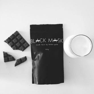 Black Mask чёрная маска от прыщей, угрей и черных точек