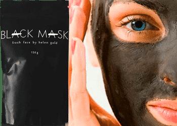 Black Mask - чёрная маска от прыщей, угрей и черных точек