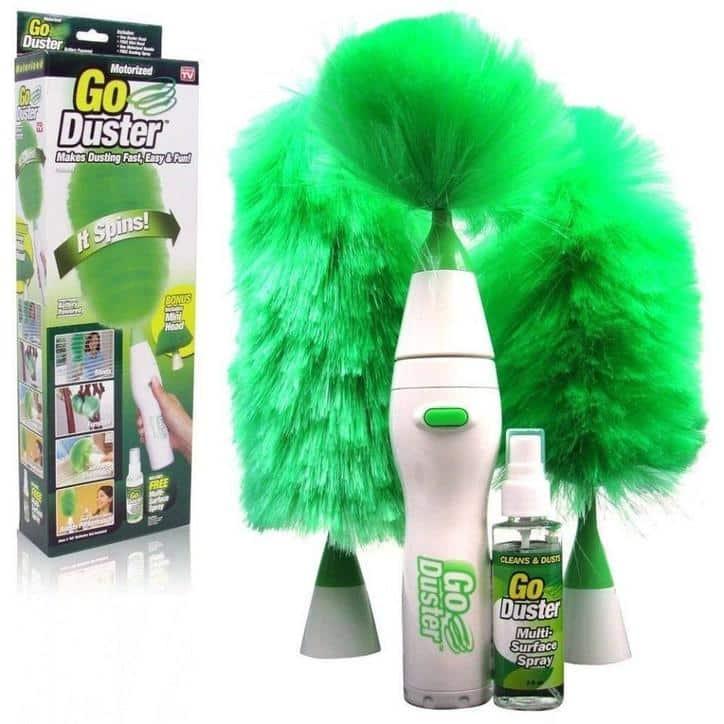 Щетка для удаления пыли Go Duster Spin