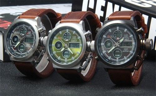 Армейские наручные часы AMST и их комплектация