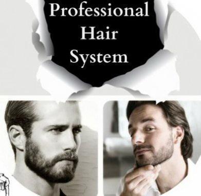 Действие спрея Professional Hair System