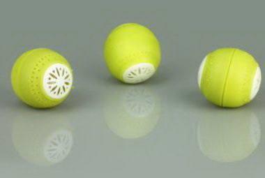 Внешний вид и конструкция поглотителей Fridge Balls