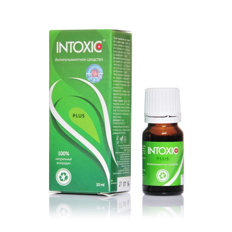Intoxic (Интоксик) от паразитов