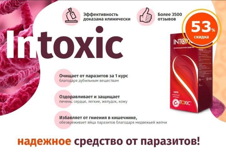 Intoxic - средство от паразитов: обзор, отзывы, купить по низкой цене