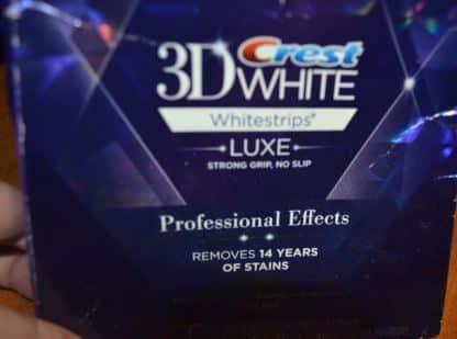 Мой обзор отбеливающих полосок Crest 3D white