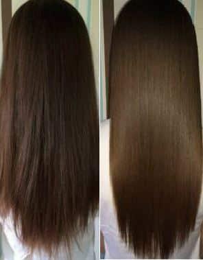 Что будет с волосами после использования  Split Ender