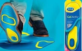 Стельки для обуви Scholl Gel Active