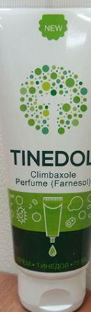 Обзор на крем от грибка Tinedol