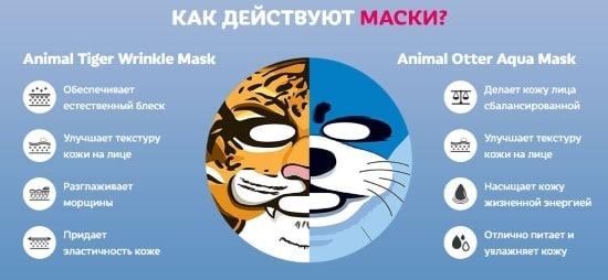 Как действует Animal Mask