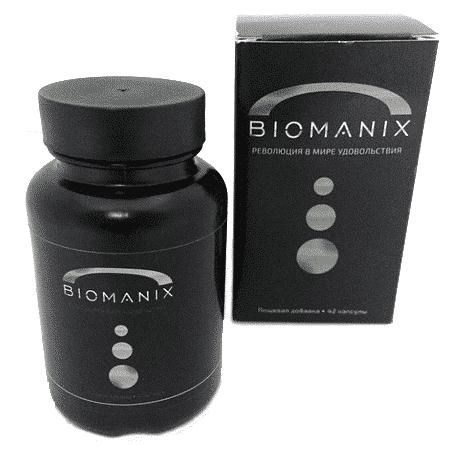Внешний вид капсул Biomanix