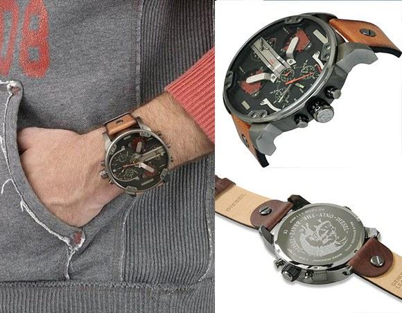 часы «Diesel Brave» и их внешний вид