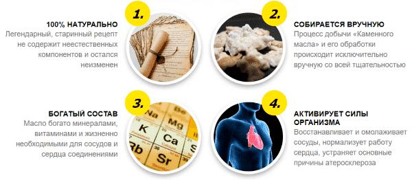 Чем полезно каменное масло