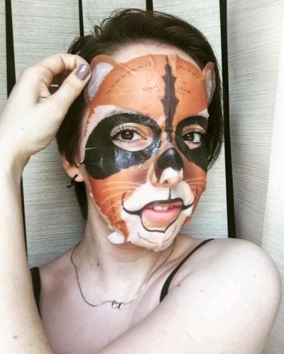 Мое мнение об омолаживающей маске Animal Mask
