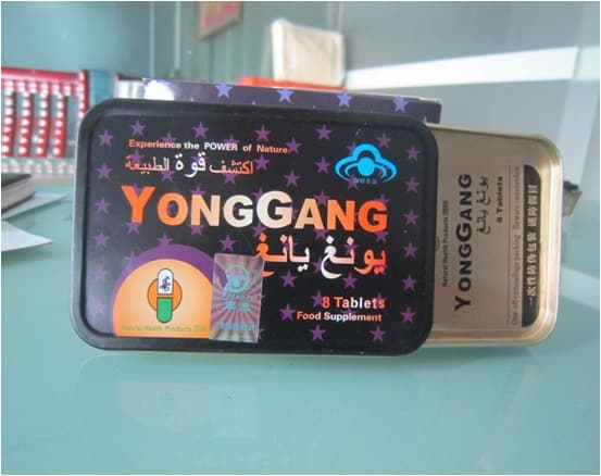 Обзор средства для мужчин Yong-Gang