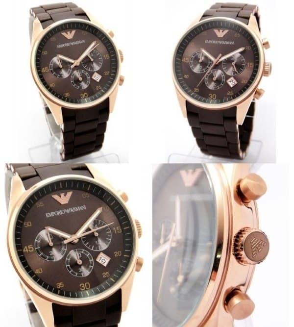 Часы от Armani как воплощение тонкого стиля