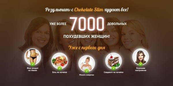 Принцип действия Chokolate Slim