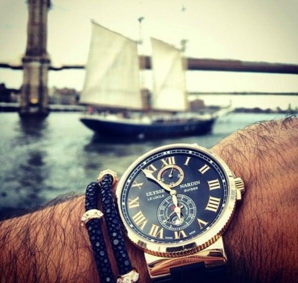 Особенности часов Ulysse Nardin Marine
