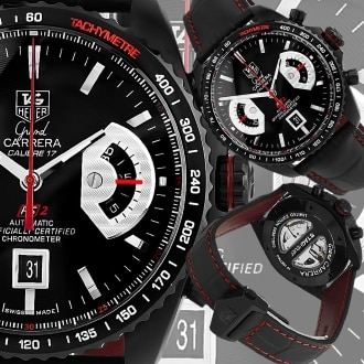 Мужские часы Tag Heuer Grand Carrera Calibre 17