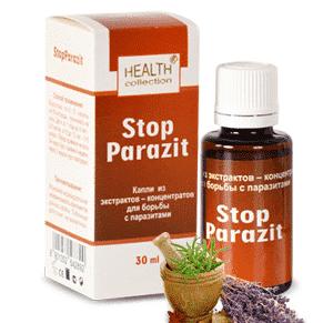 Капли от паразитов и глистов Stop parazit