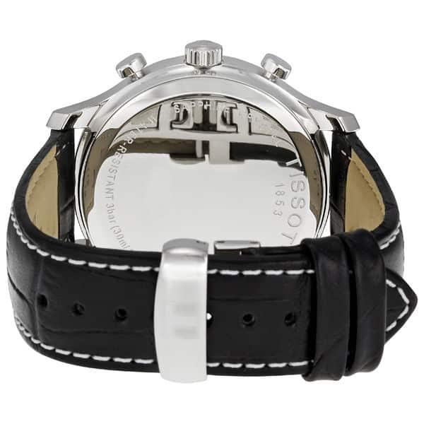 Описание классической модели часов Tissot и вид сзади
