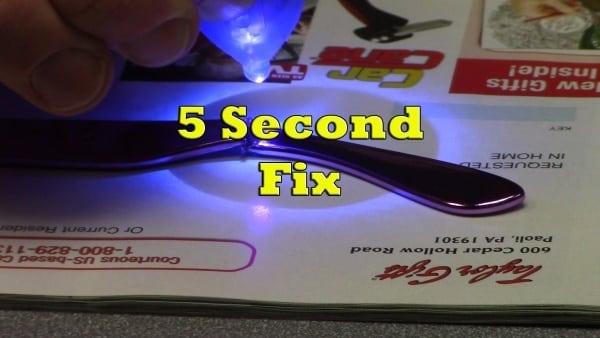 Состав упаковки клея «5 Секонд Фикс»