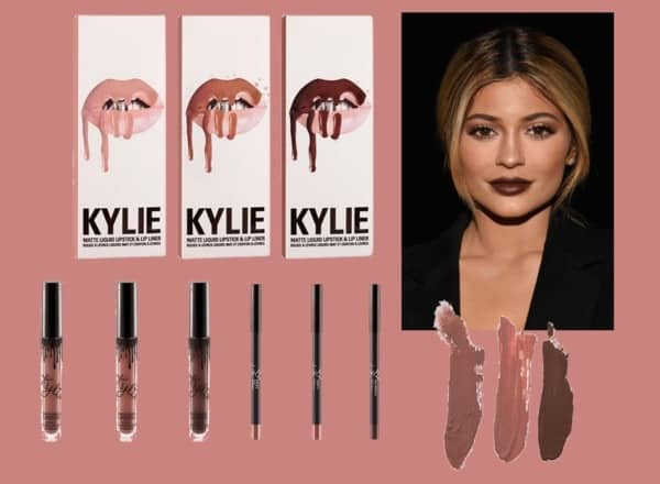 В состав набора Kylie Jenner Lip Kit входит
