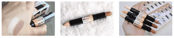 Внешний вид корректора для лица NYX Wonder stick