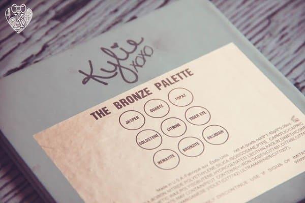 Основные характеристики теней Kylie Kyshadow