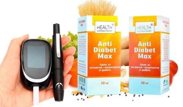 Как действуют капли Anti Diabet Max