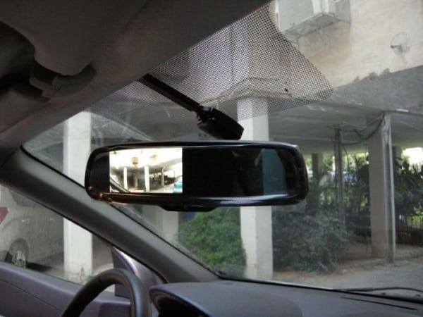 Съемка и звук Car DVR Mirror
