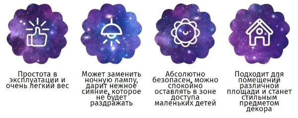 Преимущества светильника «Sleep Master»