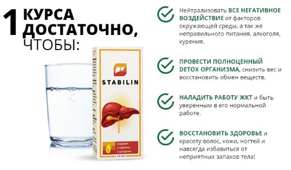 Мой опыт применения средства для печени Stablin