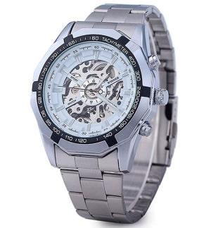 Часы для мужчин Winner Skeleton Luxury